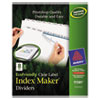 Avery Avery® EcoFriendly Index Maker® Label Dividers, Clear AVE11581