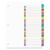 Avery Avery® Ready Index® Customizable Table of Contents Multicolor Dividers AVE 11844