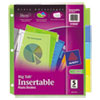 avery: Avery® Big Tab™ Insertable Plastic Dividers