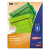 Labels, Stamps, Index Dividers: Avery® Big Tab™ Insertable Plastic Dividers