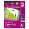 avery: Avery® Big Tab™ Pocket Insertable Plastic Dividers