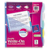 Avery Avery® Translucent Durable Write-On Reference Index Dividers AVE16176