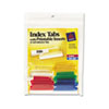 Avery Avery® Self-Adhesive Plastic Tabs with Printable Inserts AVE 16228