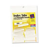 Avery Avery® Self-Adhesive Plastic Tabs with Printable Inserts AVE 16230