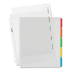 Avery Avery® Clear View Plastic Dividers with Multicolored Tabs  Sheet Protector AVE 16740