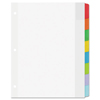 Binder Accessories Sheet Hole Reinforcements: Avery® Dividers with Movable Tabs