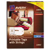 Avery Avery® Printable Tags with Strings AVE 22802