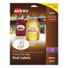 Avery Avery® Oval Easy Peel® Labels AVE 22820