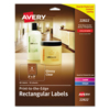 Avery Avery® Rectangle Easy Peel® Labels AVE 22822