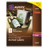Avery Avery® Textured Arched Easy Peel® Labels AVE 22826