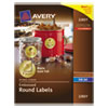 Avery Avery® Embossed Round Labels AVE 22831