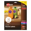 Avery Avery® Durable White Round ID Labels AVE 22856