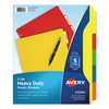 Labels, Stamps, Index Dividers: Avery® Heavy Duty Plastic Dividers