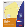 Avery Avery® WorkSaver® Big Tab™ Paper Dividers AVE 23285