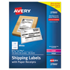 Avery Avery® Shipping Labels with Paper Receipt Bulk Pack AVE 27900