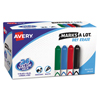 markers: Avery® Marks-A-Lot® Dry Erase Markers