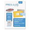 Avery PRES-a-ply® Labels AVE30607