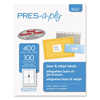 Avery Avery PRES-a-ply® Labels AVE 30641