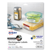 Avery Avery® White Dissolvable Labels AVE 4224