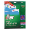Avery Avery® Extra Large File Folder Labels with TrueBlock™ Technology AVE 5026