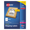 Avery Avery® Shipping Labels w/Ultrahold™ Ad & TrueBlock® AVE 5126
