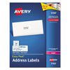 Labels, Stamps, Index Dividers: Avery® Easy Peel® Laser Address Labels