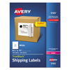 Avery Avery® Shipping Labels with TrueBlock™ Technology AVE 5165