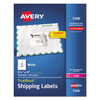 Avery Avery® Shipping Labels with TrueBlock™ Technology AVE5168
