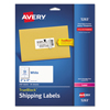 Avery Avery® Shipping Labels with TrueBlock™ Technology AVE 5263