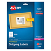 Avery Avery® Shipping Labels with TrueBlock™ Technology AVE 5264