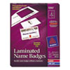 Avery Avery® Laminated Clip Style Name Badges AVE 5362