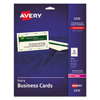 Avery Avery® Business Cards AVE 5376