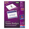 Avery Avery® Garment Friendly™ Clip Style Name Badges AVE5384