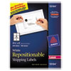 Avery Avery® Repositionable Shipping Labels AVE 55164