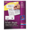 Avery Avery® Send and Reply Piggyback Labels AVE 5735
