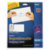 Avery Avery® Repositionable Shipping Labels AVE 58163