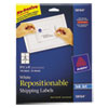 Avery Avery® Repositionable Shipping Labels AVE 58164