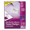 Avery Avery® Blue Border Removable Adhesive Name Badges AVE 5895