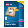 Avery Avery® Shipping Labels with TrueBlock® Technology AVE 5912