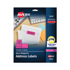 Avery Avery® High-Visibility Labels AVE 5970