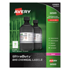 Avery Avery® GHS Chemical Labels AVE 60505