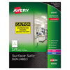 Avery Avery® Surface Safe™ Sign Labels AVE 61515