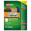 Avery Avery® Durable Permanent ID Labels with TrueBlock® Technology AVE 61531