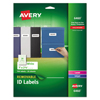 Avery Avery® Removable Self-Adhesive ID Labels AVE6460