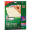 Avery Avery® Removable File Folder Labels AVE 6466