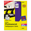 Avery Avery® Permanent Durable ID Labels AVE 6570