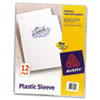 Avery Avery® Polypropylene Plastic Sleeves AVE 72311