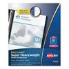 Avery Avery® Diamond Clear Easy Load Sheet Protector AVE74130