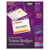 Avery Avery® Hanging Name Badges AVE 74459