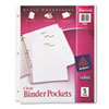 Avery Avery® Binder Pockets AVE 75243